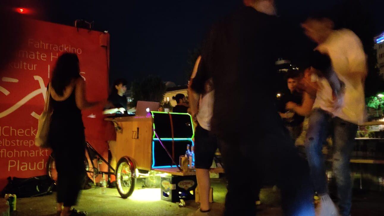 Lenkerbande DJ-Lastenrad